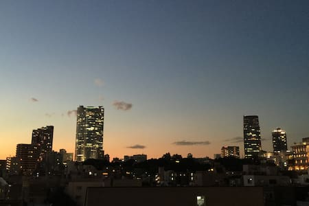 Tokyo tower,Great view,magical sofa,free drinks - Minato-ku