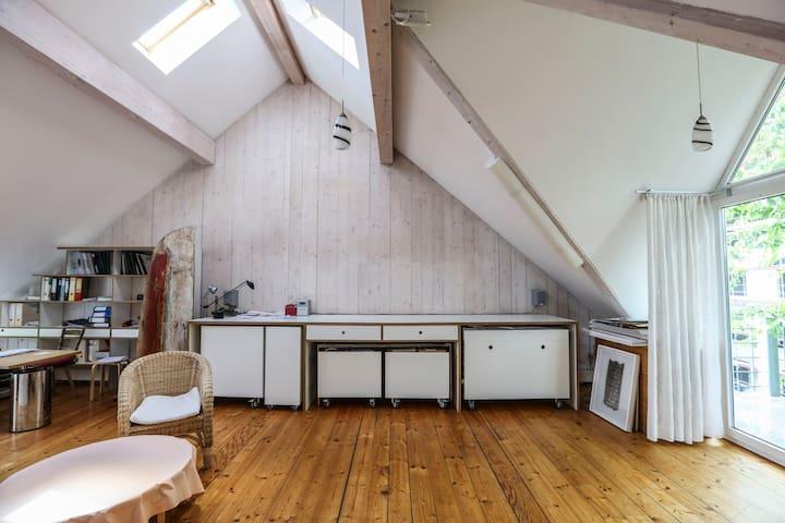 Atelier-Loft in Bestlage in Karlsruhe - Grötzingen