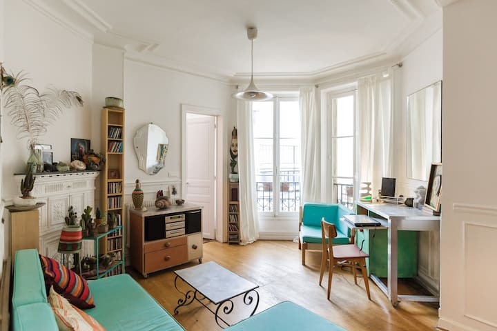 Sunny Art - 1 bedroom Le Marais