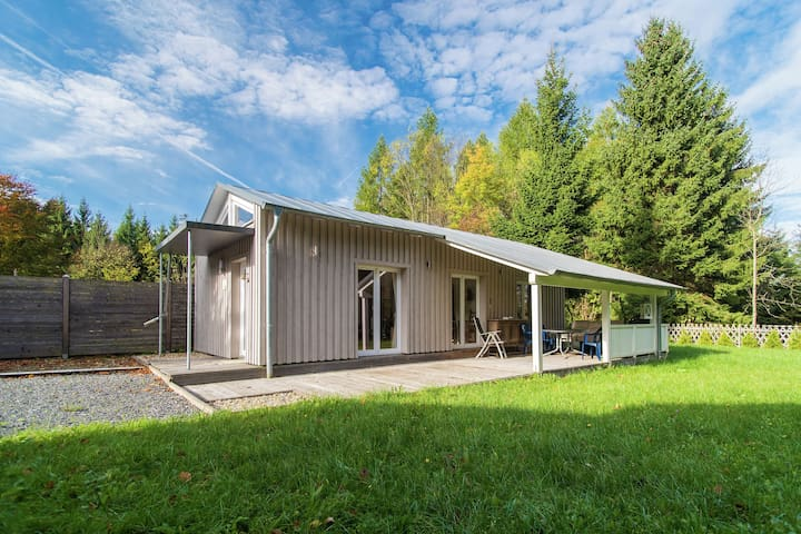 Detached romantic holiday home in the Harz with large plot, pure nature