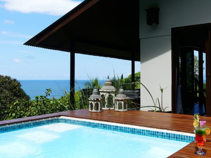 Plunge Pool Villa - All Meals Included - Drake Bay