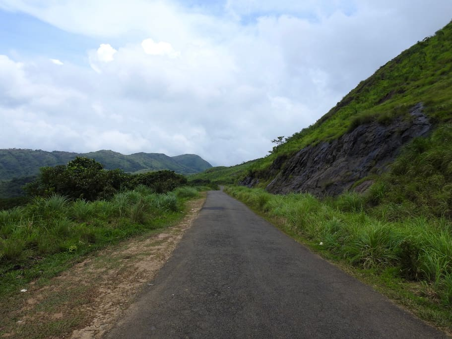 Whichever direction you approach Wagamon from, you are in for a treat - panorama upon panorama.