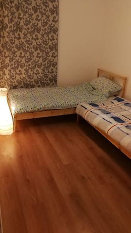 "cosy room near the city center and river ""Fulda"""