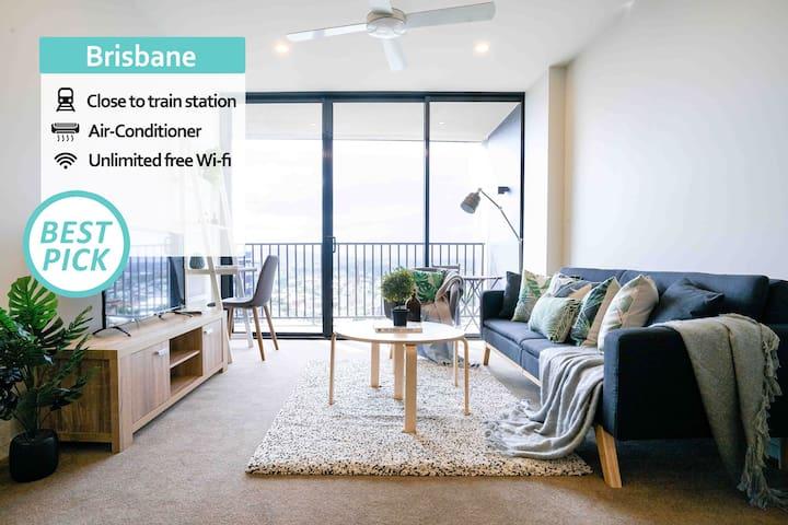 KOZYGURU | Brisbane CITY | HIGHRISE 1BED APT | SPIRE | QBN55025