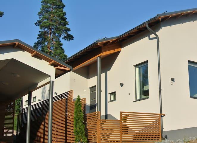 Omakotitalo/ A modern house