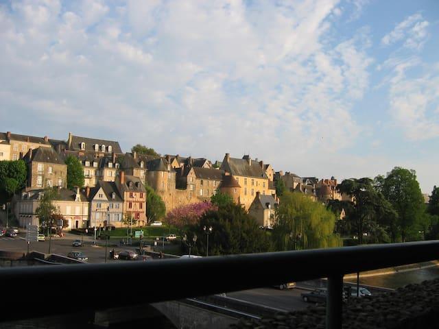 Charmant studio vue sur le Vieux Mans