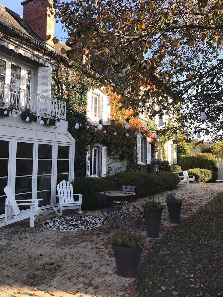 4 chambres et table d'hôtes dans charmante maison