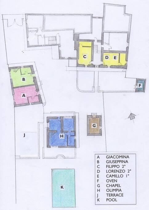 B on site plan