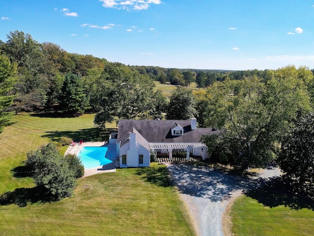 Upfront, Cape Cod on 50-acre farm