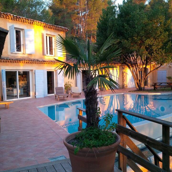 Charming Provencal Villa with Exclusive Privacy