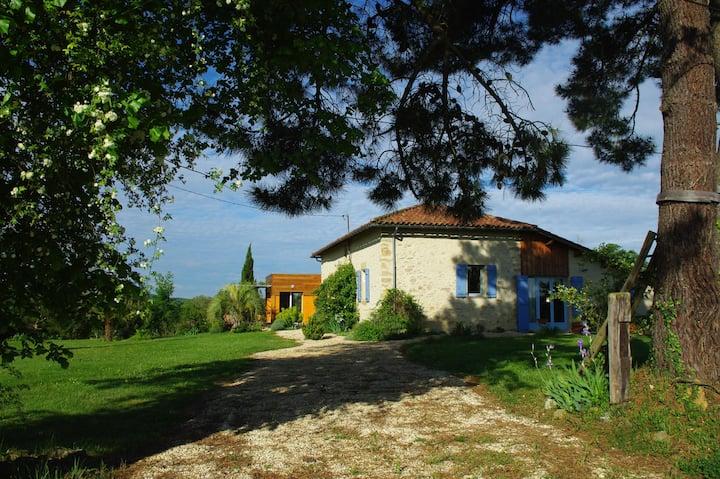 Gîte Gascon en campagne: Le Bonheur sur la colline