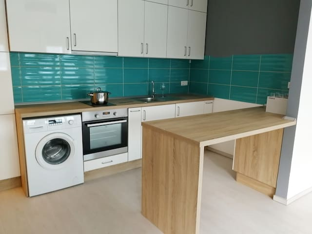 Fully equipped apartment, close to the Danube