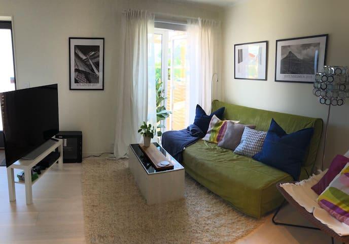 Lägenhet i villa på Hönö nära bad och bouldring
