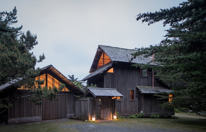 Hinoki House built by Japanese Master Artisan featured in Sunset Magazine