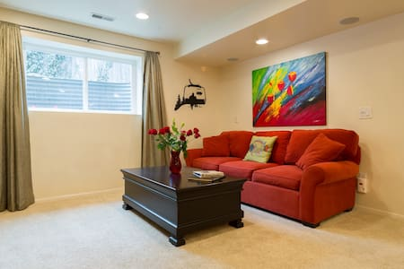 Perfect SKI VACATION LOCATION! Very Comfortable! - Cottonwood Heights - Σπίτι