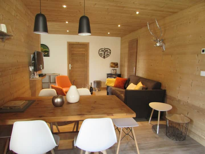 Champagny-La Plagne, bel appart neuf 4/6 pers