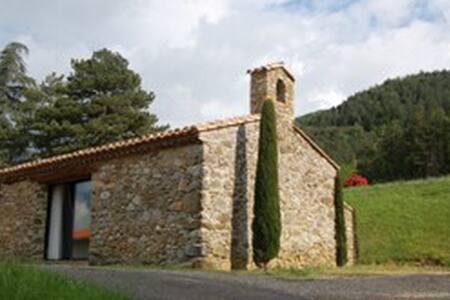 La Chapelle Pierrou en Pays Cathare