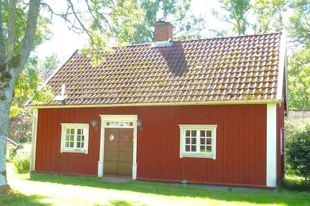 Lantlig stuga nära Jönköping/Gränna - Adelöv - Mökki