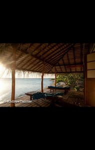 Beautiful bungalow on faraway motu - Rangiroa