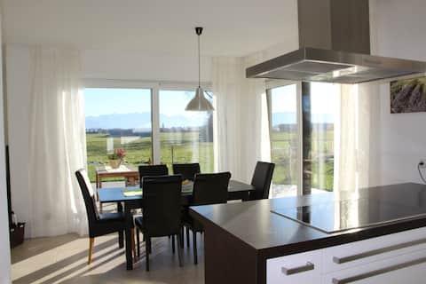 Großzügige moderne 140qm Wohnung im EG bei Murnau