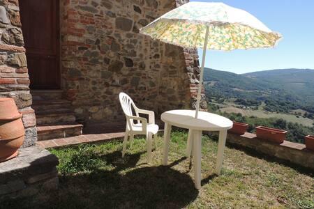 Splendida casa nel borgo medievale - Castelnuovo di Val di Cecina - Haus