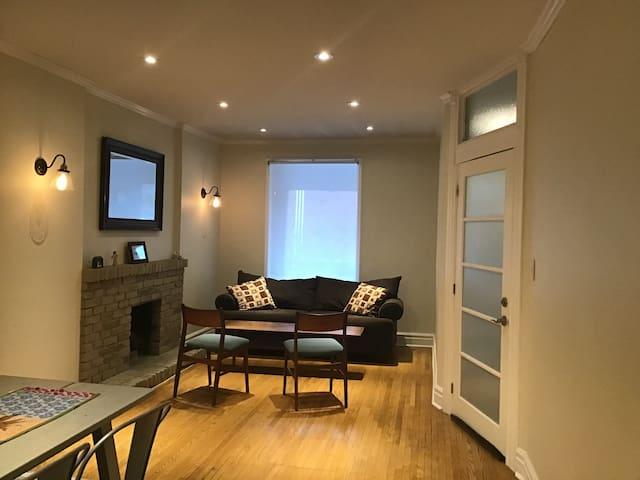 1 Bedroom + Den spacious bright unit