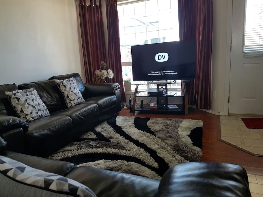Living room (Leather seat with HD TV )