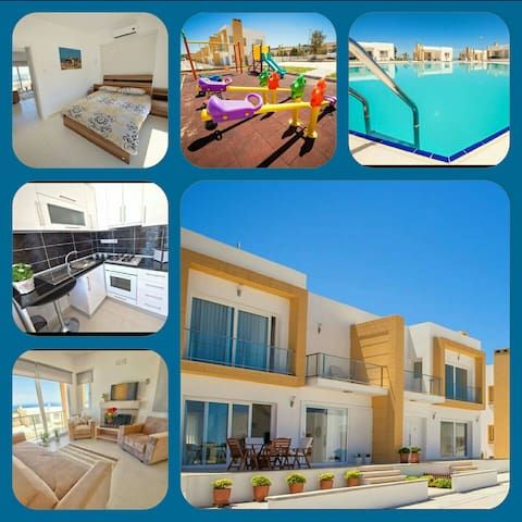 North Cyprus seaside luxery flats