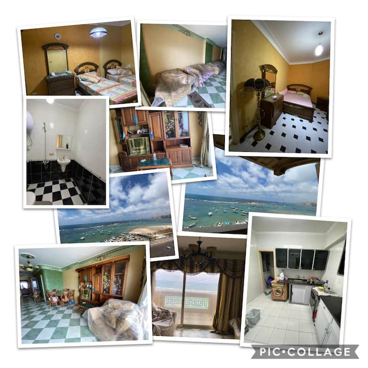 Ultra super lux sea view apartment for rent