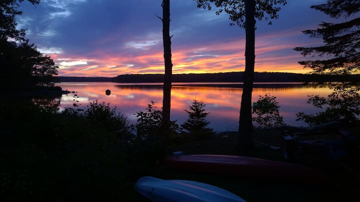 Sunset Sonata on Taunton Bay
