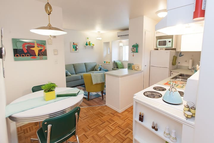 Bright and cozy space