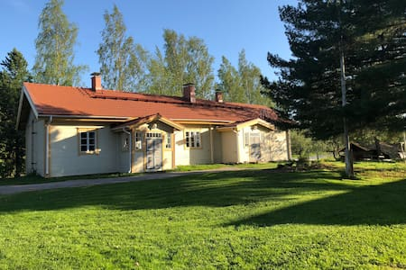 Farmhouse with private swimming spot