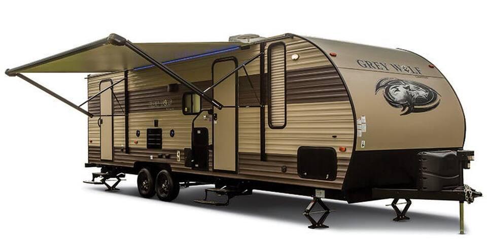 2017 26 Ft. Modern RV at Riverstone Campground