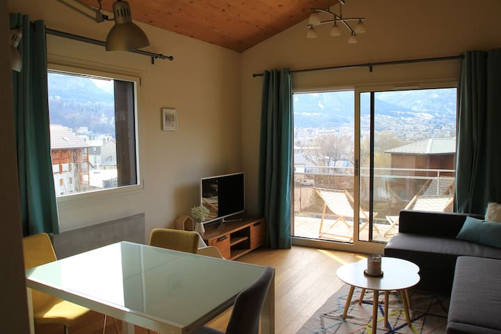 Design and cosy flat - 50m gondola - Briançon - Apartmen
