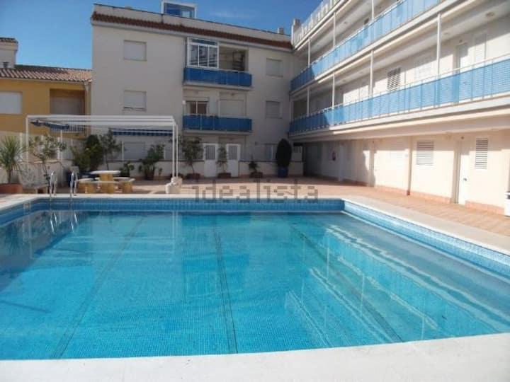 Apartamento Alcossebre Playa del Cargador