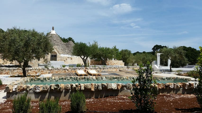 Trulli Mariano near Alberobello with private pool