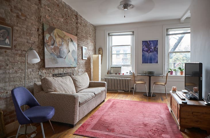 Entire Charming Studio in Historical Brooklyn