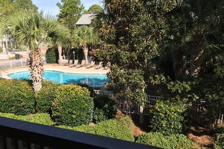 Poolside Serenity - Pool view, steps to ocean! - Seagrove Beach