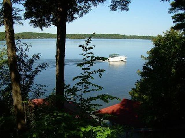Beausejour cottage rental on Rideau Lakes