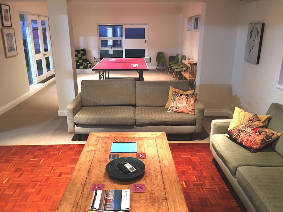 Second living space - huge
