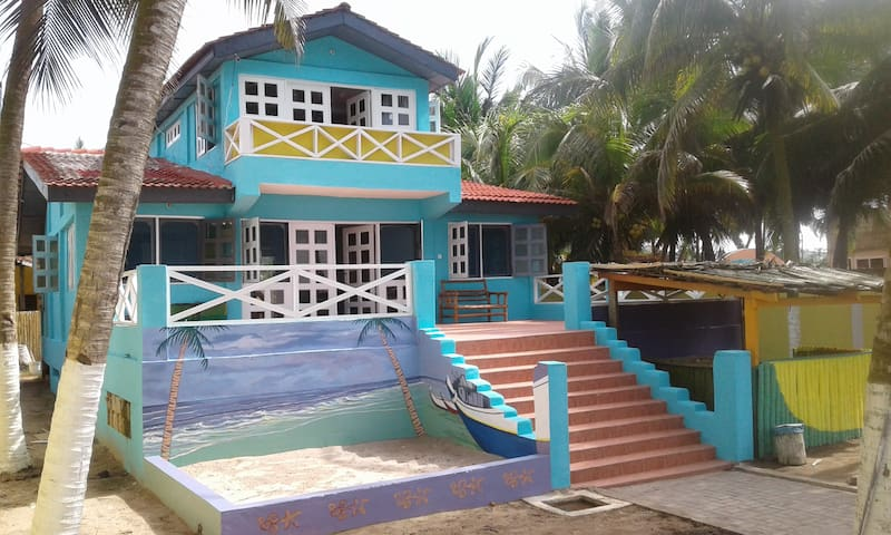 Kokrobite Beach Cottage