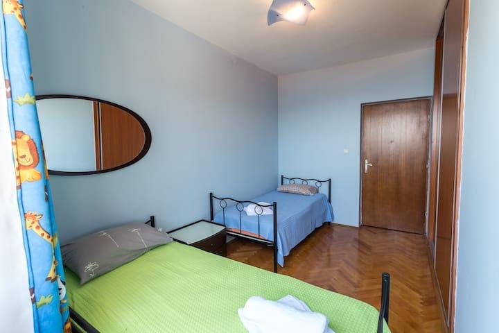 Twin room with sea view - Herceg Novi - Casa