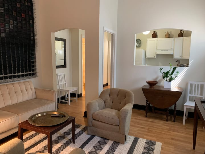 Private and Sophisticated  Inman Park Apartment