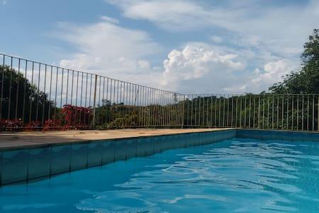 Sitio para relaxar - Cachoeiras de Macacu - Cabaña