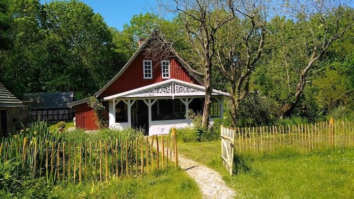 Das romantische Rödhus direkt am Nordseedeich