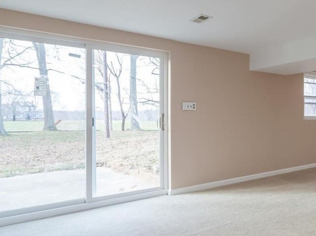 Private basement apartment  in the country