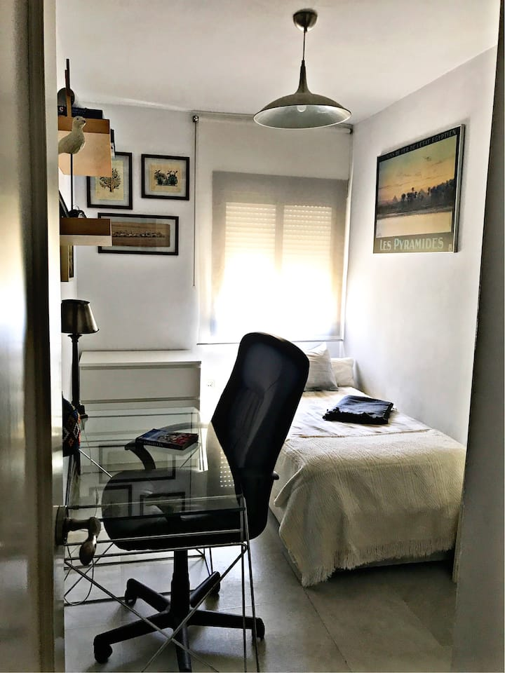 Coqueta habitación en el barrio de moda de Sevilla