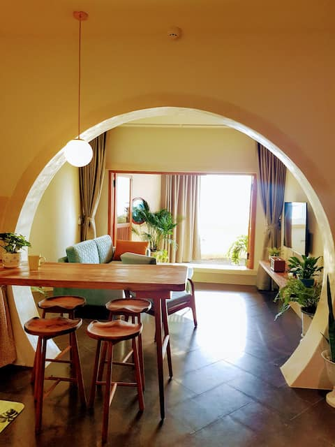 2 bedroom Indochine Aparment with seaview
