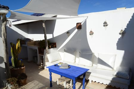 Dar Darek B&B twin ensuite room - Essaouira
