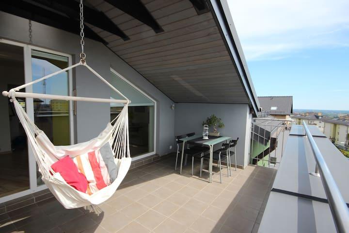 Big app 3 rooms for work & holiday Gdańsk - Gdańsk - Apartamento